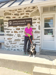 At Harper's Ferry West Virginia, the psychological halfway point of the Appalachian Trail. I was the 517th through hiker to register in 2016.