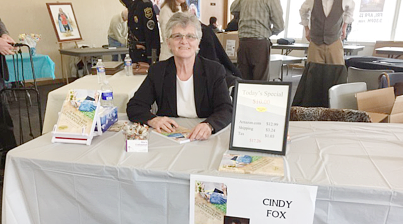 """Cindy A. Fox spoke to members of the public during a recent event at Liverpool Public Library. She co-authored the book """"Is Writing and Publishing a Book on Your Bucket List."""""""