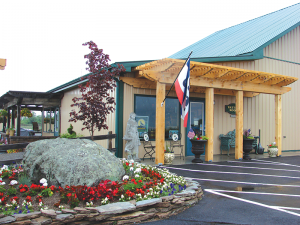 Coyote Moon Vineyard offers 20 different wines and one of the few vineyards in the area bottling Frontenac Blanc.