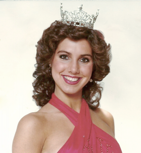 Professional studio photo for Miss New York State publicity photos. 1981