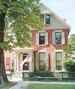 Susan B. Anthony House at 17 Madison St. in Rochester. The home's guided tour highlights, among other things, the friendship between Susan B. Anthony and Frederick Douglass.