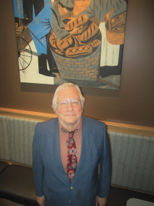 John Cruty runs 40 Above, an organization that helps older folks looking for work. The group teaches residents the skills on how to do it and also may offer a bit of a networking opportunity.