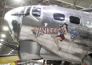 World War II buffs and airplane lovers will literally take to the air at Yankee Air Museum. One of the planes on display — Yankee Lady — is a B-17, a transport aircraft used by the Allies in World War II.