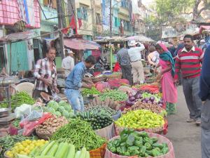 Vegetable market is Mumbai.