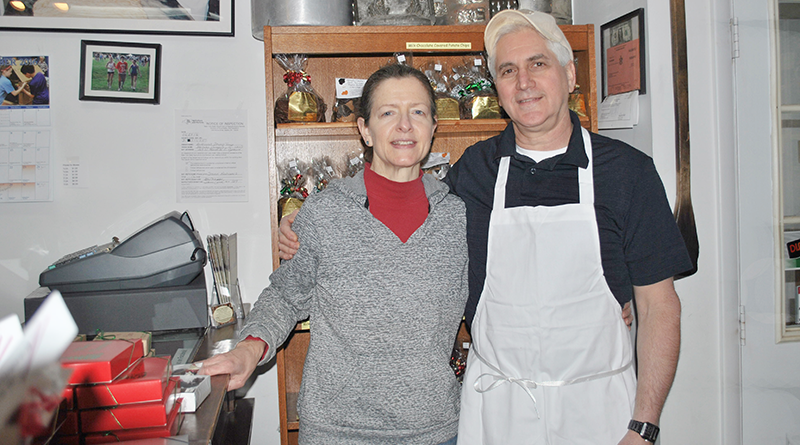 Steve Andrianos and his wife, Terry, operate Hercules Candy in East Syracuse.