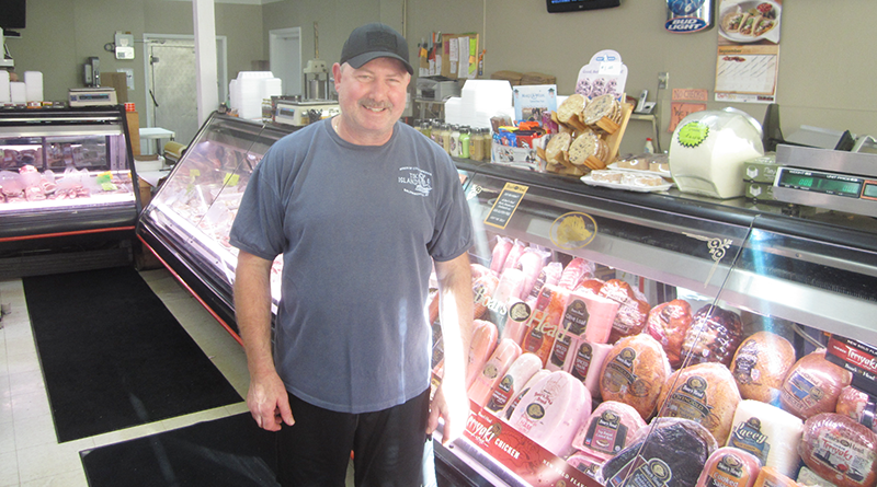 Frank Mazzye Jr. is the second generation in his family to operate Mazzye's Meats in LIverpool.