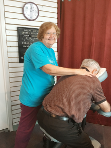 Joanne M. Verone, owner of Delphi Healing Arts Center in Syracuse, is already in her 70s. I'm so grateful I've been doing it all these years and I'm still healthy enough to do it.""