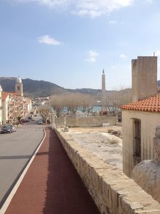 """Walk down any street in France, like this picturesque avenue in the seaside town of Port Vendres, and you absolutely must greet everyone you pass with a friendly """"Bonjour"""" or risk branding yourself as an uncultured foreigner."""