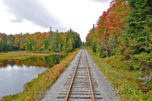 Adirondack Scenic Railroad.