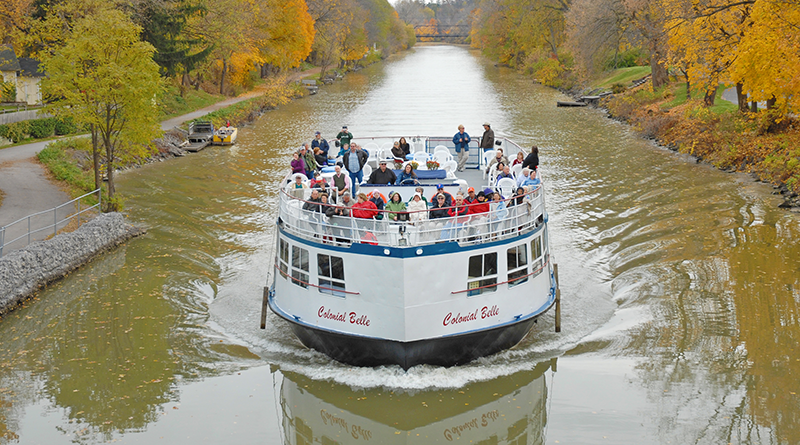 Colonial Belle Erie Canal Boat Tour.