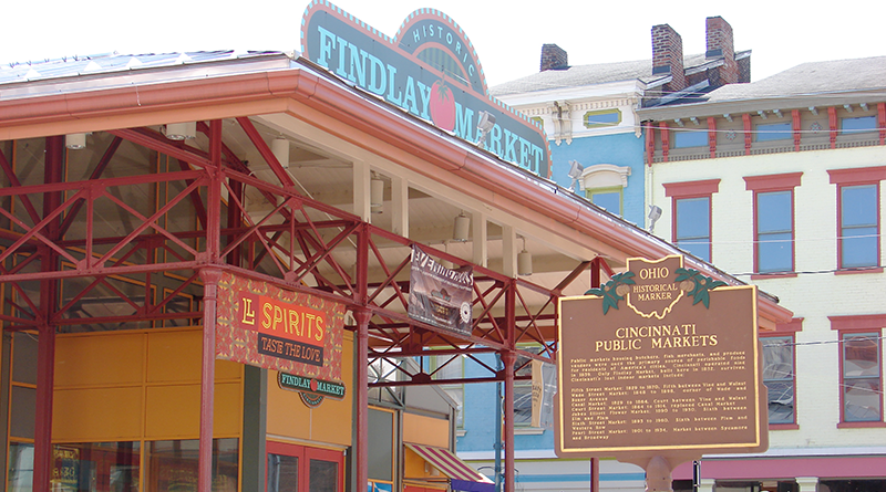 No visit to Cincinnati is complete without a stop at Findlay Market to get a bite to eat and enjoy some of the entertainment it offers.