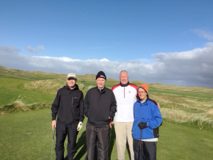 Golf outing in Ireland in 2017. Photo provided.