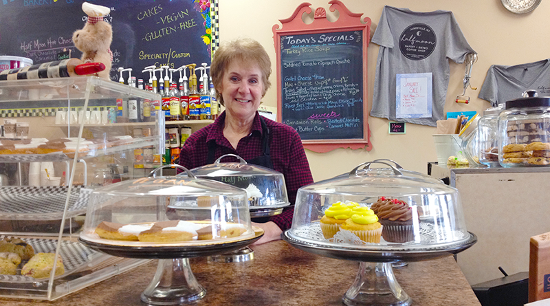 Debbe Titus is the owner of Half Moon Bakery and Bistro in Jamesville. Photo by Margaret McCormick