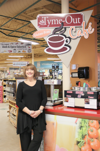 Meyerson at her Natur-Tyme store in Syracuse.