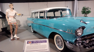 Northeast Classic Car Museum, comprised of almost 200 classics, includes 1957 Chevy Bel Air.
