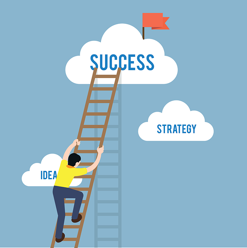 How to Climb the Ladder of Success – 55 Plus Magazine for