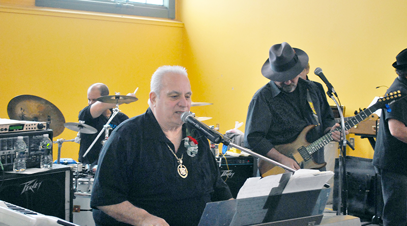 Mickey Vendetti, 75, is the bandleader, keyboardist and singer at Mickey Vendetti and the Goodtime Band. Vendetti, who plays alongside his two sons, Mickey Jr., 56, and Josh, 47, has been in the local music business for 60 years.