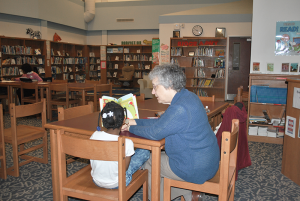 "Rosalind NaPier worked at the Onondaga County Public Library for 31 years. Now she is an instructor at McKinley-Brighton Elementary School in Syracuse. ""This helps me to really share my love of reading and my love of children's books with some individual children,"" she says."
