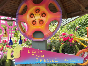 I came I saw I planted