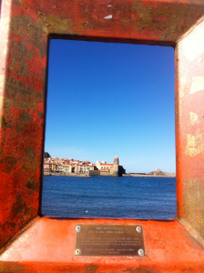 Collioure is dotted with empty frames, through which a visitor can see the view that inspired a famous painting.