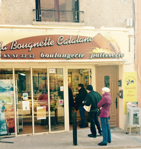 When you visit the boulangerie for your daily bread, you get to practice your French with the baker and fellow customers.