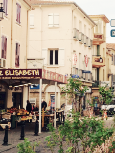 Whether you're looking for vegetables at the marchand de legumes, newspapers and sundries at the tabac or fish at the poissonerie, a shopping trip is great opportunity to practice language skills.