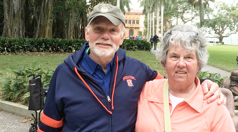 George Cady and his wife Donna Stoner