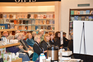 Participants of CNY Reads One Book during a meeting last year at Barnes and Noble in DeWitt.