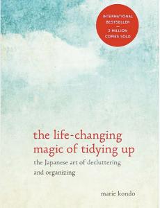 Marie Kondo book cover