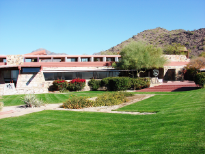 Taliesin is Frank Lloyd Wright's beloved winter home in the desert foothills of the McDowell Mountains in Scottsdale.