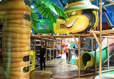 Billy Beez at Destiny USA will keep little ones through elementary age busy with its 25,000-sq.-ft. indoor play park climbing, hopping and exploring obstacles. Photo of Deborah Jeanne Sergeant.