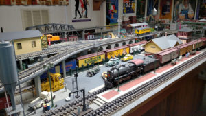 Ed Bernat's passion for collecting model trains has been going on for about a half-century. It all started when he went to an auction in his hometown of Fulton in the early 1970s.
