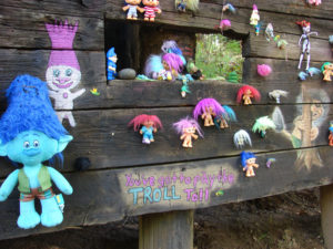 Troll Bridge: There are hundreds of trolls under an old trestle railway bridge on the outskirts of Portland.