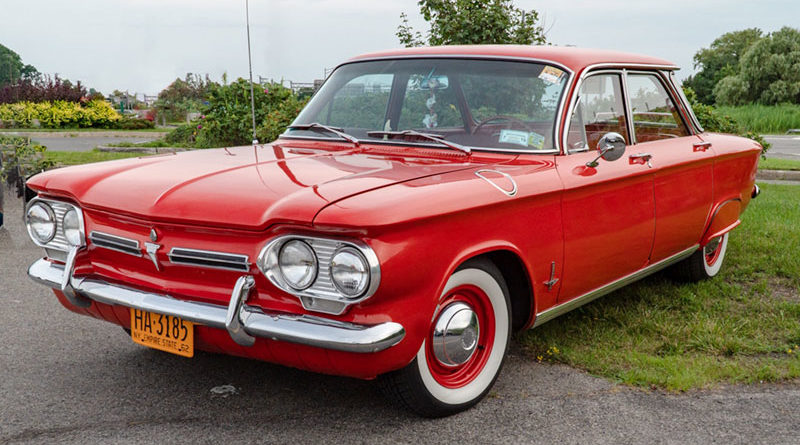 Chevy Corvair Monza 900 model, known as Miss Daisy