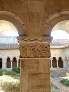 We enjoyed the columns, cloister and courtyard of Elne Cathedral.
