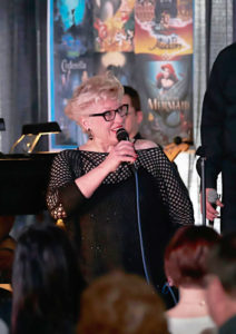 Nancy Kelly performing at LeMoyne College in 2015. Photo by Chuck Wainwright.