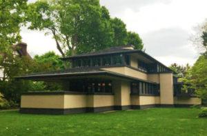 Sample of Frank Lloyd Wright house in the Buffalo area.