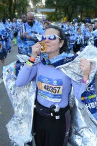Roefaro at NYC Marathon, 2016...
