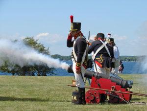 Battle Field, Sackets Harbor.