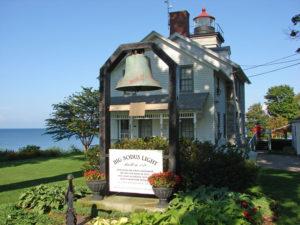 Sodus Lighthouse, Sodus Bay.
