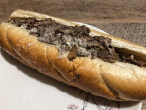 Taste Of Philly cheesesteak