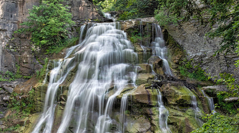 Madison County has one of the newest waterfalls that is now open to the public. Delphi Falls County Park, opened to the public in August 2018, contains two waterfalls, a house, a barn and surrounding woodland.