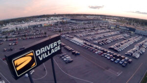 Driver's Village in Cicero: 16 dealerships selling on average about 500 vehicles a month.  Photo courtesy of Driver's Village
