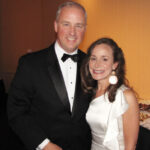 Summer of 2012. Matt Mulcahy with wife Jamie Pomilio-Mulcahy at a black tie charity fundraiser.