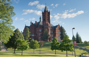 Crouse College, Syracuse University. 1881.
