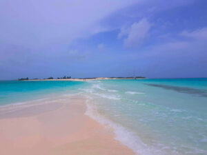 Los Roques, a collection of deserted islands off the coast of Venezuela, was a favorite spot for the Fowlers.