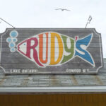 Rudy's Lakeside Drive-In. 1946.