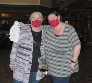 Theresa Grudzinski, 67, and Jaclyn Fedrizzi, 40, say they enjoy seeing different places around CNY.