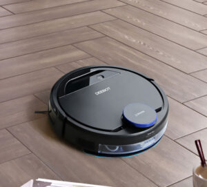 "Vacuum robot acting up: ""I would have kicked it, but it was looking at me funny and I was afraid."""