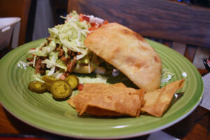 The San Rafael's torta ($10.95) is in a category by itself, as it should be.